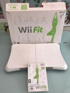 Nintendo Wii Fit Balance Board and Wii Fit Game In Original Box