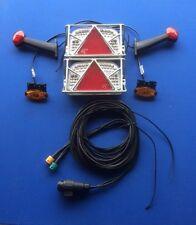 LED  Anhänger Rückleuchten LED Rückleuchten Set 12 Volt incl. Schutzgitter