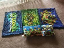 Teenage Mutant Ninja Turtles - Comforter, Sheet Set, Shams, Pillows and Curtains