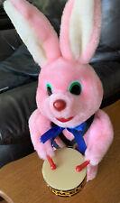 Duracell Vintage Pink Drummer Bunny