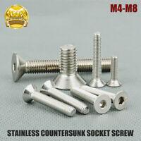 M4,M5,M6,M8,Stainless Steel Metric Hex Socket Head Cap Screws Socket Allen Bolt