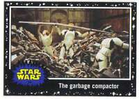 2015 Star Wars Journey To The Force Awakens Black #34 The garbage compactor Topp