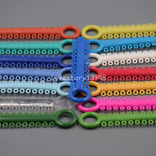 1040 Pcs Dental Ligature Ties Orthodontics Elastic Multi Color Rubber Bands