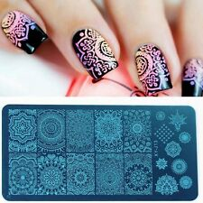 Trendy Manicure Template Nail Art Image Stamping Print Plate Stamper Tip Beauty