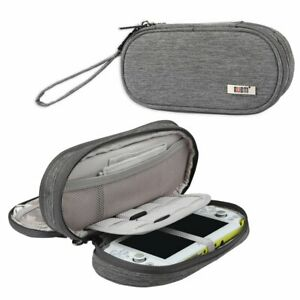 BUBM Double Compartment Storage Case Compatible with PS Vita and PSP, Protective