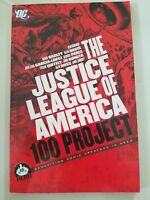 THE JUSTICE LEAGUE OF AMERICA 100 PROJECT GRAPHIC NOVEL BOOK DC COMICS 2011