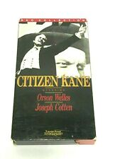 Citizen Kane (Vhs) Orson Welles - Drama Classic Rko Edition Turner