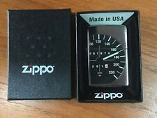 Zippo Volkswagen VW Golf ,Scirocco MK 1 Speedo Rev-Mint Unused -in box from 2015