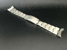 Vintage Rolex USA 20 mm S/S Oyster Expandable Riveted Band Bracelet 7-59