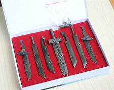 Final Fantasy VII FF7 Cloud Cosplay Cool Combine Toy Buster Swords in Gift Box