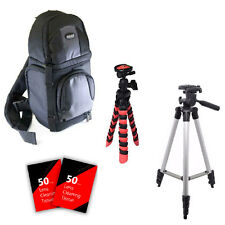 Flexible & Tall Tripod & More for Canon EOS Rebel T6 T5 & All Digital Cameras