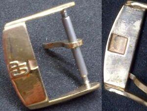 Original Girard Perregaux Buckle Fibbia 16mm inner '60 Rose GoldPlated L@@K !