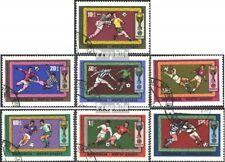 Mongolia 591-597 (edición completa) usado 1970 Fútbol-WM ´70, Mexico