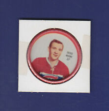 Dickie Moore 1962-63 Shirrif Coins #37