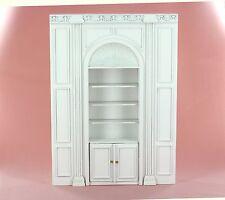 "Dollhouse Miniature  ""MANOR"" SHELF UNIT   9100-W     BESPAQ DIRECT"