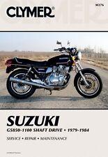 CLYMER MANUAL SUZUKI GS1000GL 81, GS1100G 82-83, GS1100GL 82-84, GS1100GK 82-84