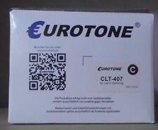 Toner clt-407 Cyan Pour Samsung CLP 310 315 CLX 3170 3185 remplace clt-c4072s