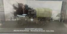 Coche militar AUSTIN 10HP LIGHT UTILITY Segunda Guerra Mundial WWII - 1/43 - NEW