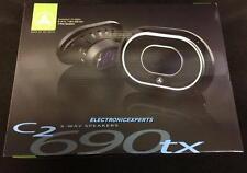 JL Audio C2-690tx 6x9-inch 3-Way Car Audio Coaxial Speakers Pair C2 Evolution