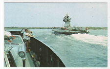 Ocracoke Car Ferry Boat Outer Banks North Carolina postcard