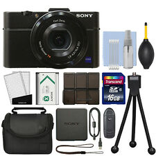 Sony Cyber-shot DSC-RX100 II 20.2MP Digital Camera 3.6x Optical Zoom + 16GB Kit