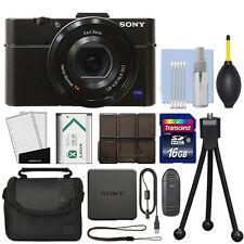 Sony Cyber-shot DSC-RX100 II 20.2MP Digital Camera 3.6x Optical Zoom + 16GB Kit