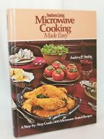 Microwave Cooking Made Easy Southern Living 1978 Hard Cover . Recipes / Cookbook