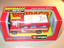 Burago - Land Rover Aziza - 4131 - 1.47 Scale - Nr Mint/Boxed - Fast Postage