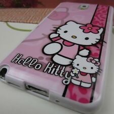 Samsung Galaxy Note 3 III TPU Gel Rubber Skin Case Cover Hello Kitty #PL