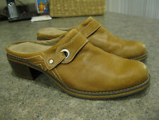 Womens REDWING Leather Open Heel Slip On Shoes #4906 Size 9 B Very Good Cond