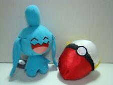 pokemon ball plush doll soft toy #360 wynaut pokeball