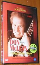 Don McLean:  Starry, Starry Night - Live - New DVD