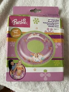 "Barbie Pink Inflatable Swim Ring 20"" (51cm) New"