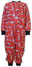 Vêtements ensemble pyjama rouge pour fille de 2 à 16 ans en 100% coton