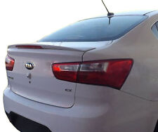 PAINTED REAR WING SPOILER FOR A KIA RIO 4-DOOR FACTORY STYLE 2013-2017