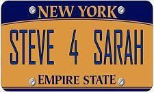 fantaisie numéro de plaque,personnalisé amusant américain New York Licence