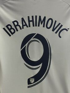 Adidas LA Galaxy Home Ibrahimovic 9 Jersey 2016 WhiteJersey Size M Men's Only