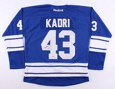 Nazem Kadri Signed Maple Leafs Jersey (Beckett) 7th Overall Pick 2009 NHL Draft
