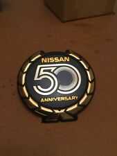 RARE DATSUN NISSAN 50th ANNIVERSARY Grille Emblem Badge Genuine 300zx Z31 A4