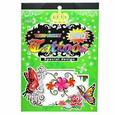 Temporary Tattoos Party Bag Fillers Waterproof, Non Toxic Children Sticker No:17