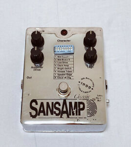 tech21 sansamp classic 1999 Limited edition Bass Preamp DI FreeShipping UsedRare