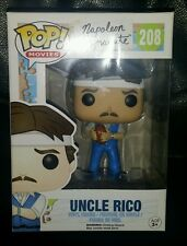 COLLECTABLE FUNKO POP VINYL NAPOLEAN DYNAMITE UNCLE RICO #208 NUMBER 208