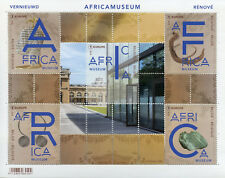 Belgium 2018 MNH Africa Museum 5v M/S Museums Art Artefacts Stamps