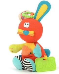 Dolce Toys - Hoppy the Bunny Interactive Soft Toy