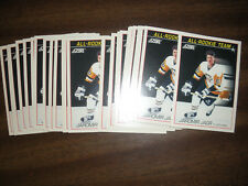 1991 SCORE JAROMIR JAGR ALL-ROOKIE TEAM 25 CARD LOT