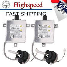 2* Xenon HID Headlight Ballast w/ Igniter D2S Bulb W3T19371 for 2006-2014 Acura