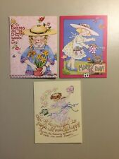 23 Vintage Mary Engelbreit Springtime Greeting Cards Mixed Lot With Envelopes