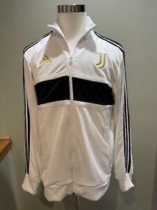 Adidas Juventus 3 Stripes Track Top Jacket Warm Up Soccer Men's Size L NWT Large