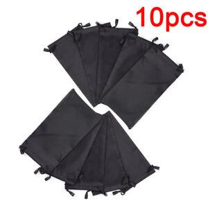 10pcs lunettes de soleil sac souple étui en tissu imperméW-xd