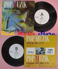 LP 45 7'' ROBIN SCOTT'S M pop muzik 1989 FREESTYLE FRS 1 no cd mc dvd